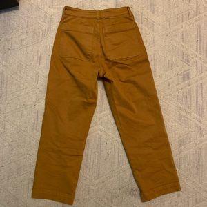 Everlane Pants - Everlane straight leg crop pant